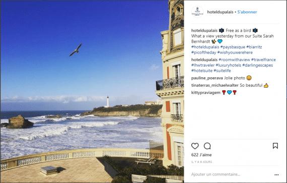 Hotel Biarritz Instagram