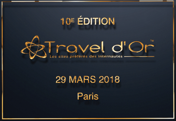 Travel d'Or 2018 - Paris