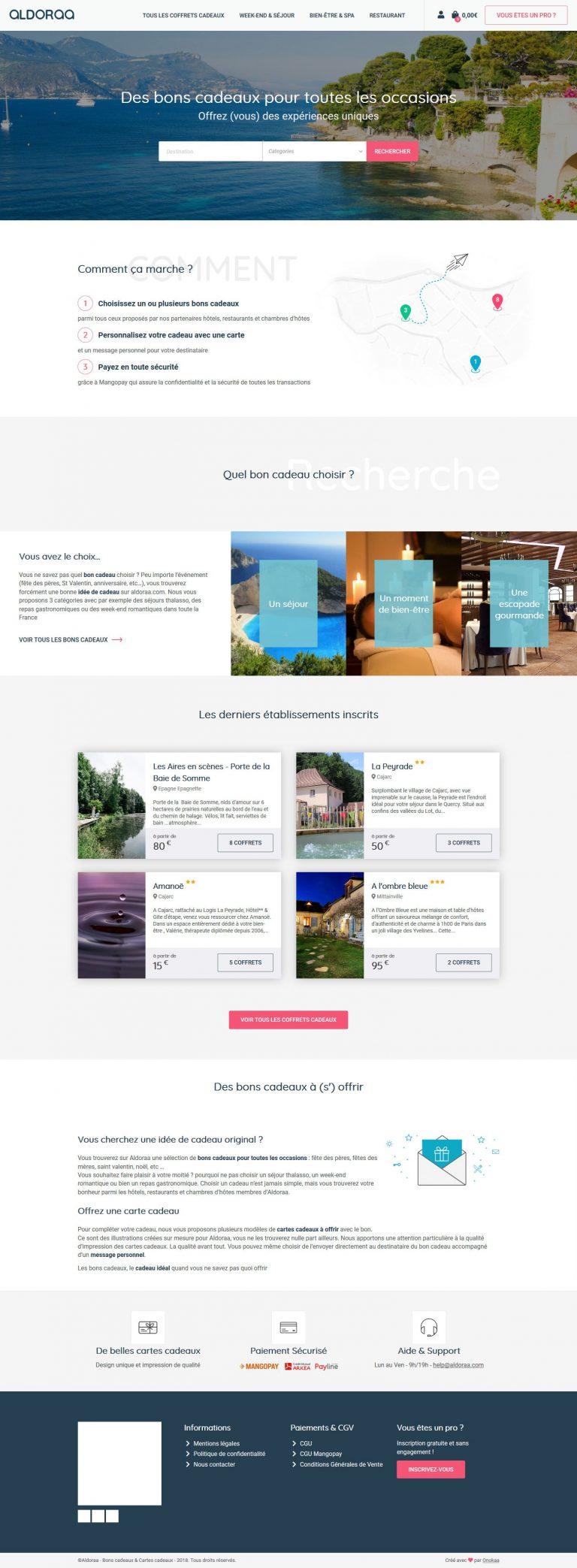 création site ecommerce à Pau