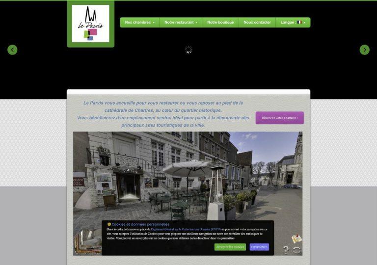 Site web avant refonte graphique par Onokaa